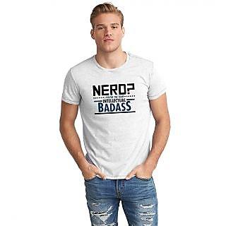 Dreambolic Nerd Badass Half Sleeve T-Shirt