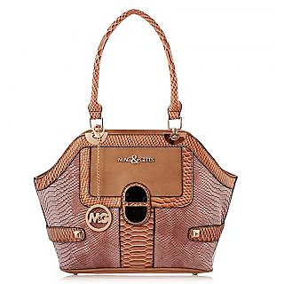 Mac And Gitts (MNG) Ladies Purse HandBag Tan