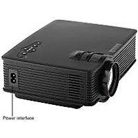 MINI Projector GP-9 BLACK COLOR 800 Lumens HD Home Theater