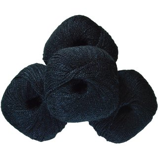 Soft Wool Black 200 Gm (4Pc)