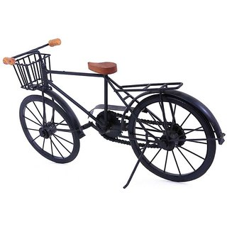 Creative Craft Wrought Iron Cycle Model Home Decorative Handicraft Gift - 19 X 5.5 X 11 In, Matte