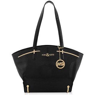 Mac And Gitts (MNG) Ladies Purse HandBag Black