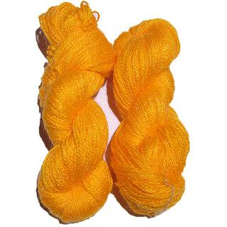 Vardhman Butterfly Yellow 300 Gm (3 Pc) hand knitting Soft Acrylic yarn wool thread for Art & craft, Crochet and needle