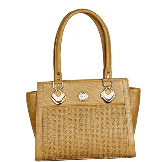 Clarzz Belinda Cruz Elegant Shoulder Tote Bags- Brown