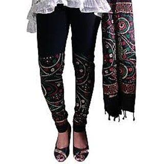 Printed Legging And Dupatta
