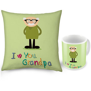 Buy I love You Grandpa Coffee Mug n Get Cushion Free