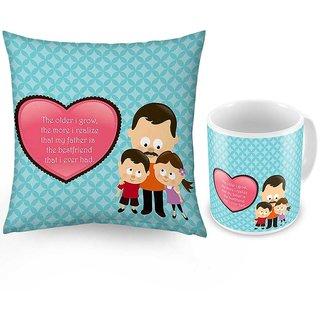 Buy Printed Deilghtful Coffee Mug n Get Cushion Free