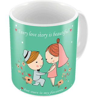 Little India Cute Designer Romantic Printed Coffee Mug 735