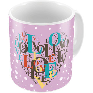 Little India Designer Romantic Printed Coffee Mug 773
