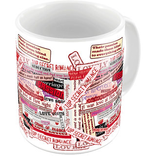 Little India Designer Romantic Printed Coffee Mug 778