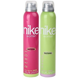 Nike Deodorants Trendy and Casual for Women 200ml Each (Pack of 2)
