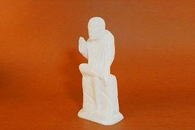 Creative Craft Marble Sai Baba 8 Statue Home Decorative Handicraft Gift