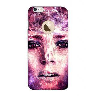 Instyler Digital Printed 3D Back Cover For Apple I Phone 6S Logo 3Dip6SlogoTmc-12093
