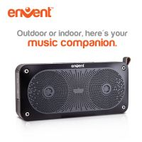 Envent LiveFree 370 Bluetooth Speaker, 10W Output Bluetooth Portable Wireless Stereo Speakers With Built In Microphone