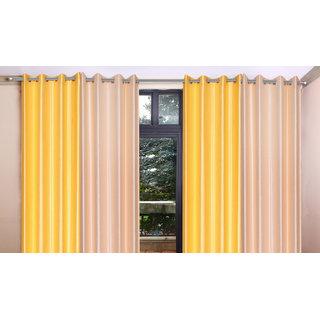 iLiv Combo Of 2 Door  2 Window Curtains - ltpink7ft5ft