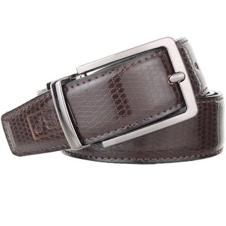 The Blue Pink PU Leather Men's Belt (BT-02)