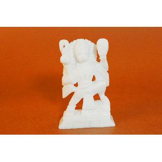 Creative Craft Marble Hanuman ji Bajrang Bali 4.5 Hindu God Statue Home Decorative Handicraft Gift