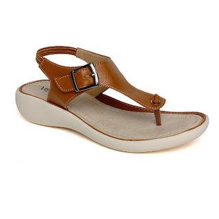 Vendoz Women's Tan Sandals