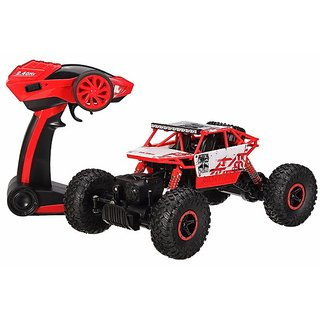 118 Scale Rock Crawler Red  (Red)