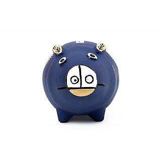 Creative Craft Terracotta Piggy Bank Home Decorative Handicraft Gift