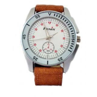 Fenix Leather Belt Wrist Watch for Man