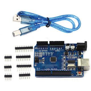 Uno R3 Compatible Development Board ATmega328P  CH340G Arduino  Free USB cable