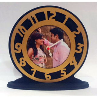 Photo Wala Gift A Beautiful Wall Cloack With Ur Photo Round Style