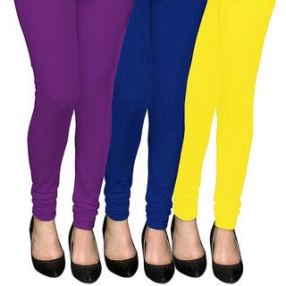 COCAKART - Legging Violet Royal Blue Lemon