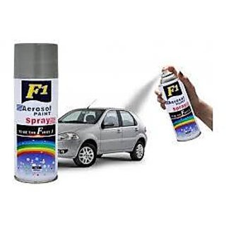 Buy F1 Car Multi Purpose Lacquer Spray Paint Silver Online