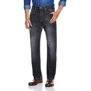 Lee Mens Black Regular Fit Jeans