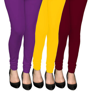COCAKART - Legging Violet Mustard Maroon