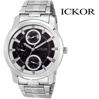 Ickor Analog Black Dial Men'S Watch - Ick115