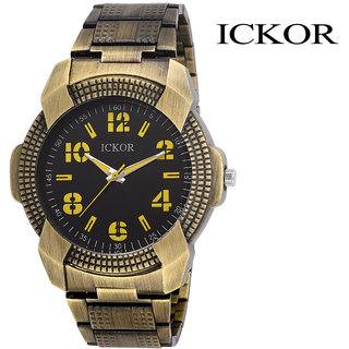 Ickor Analog Black Dial Men'S Watch - Ick116