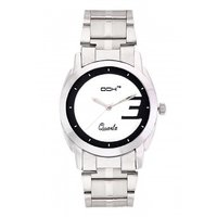 DCH In-07 Silver Case Analog Watch For Men's