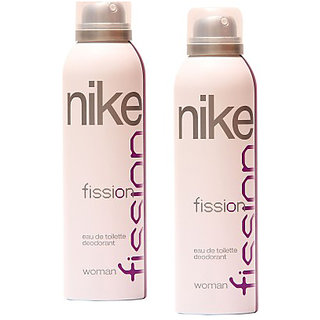 Nike Deodorants 2 Fission for Women 200ml Each (Pack of 2)