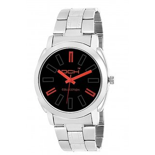 DCH In-08 Black Dial Analog Watch For Men's