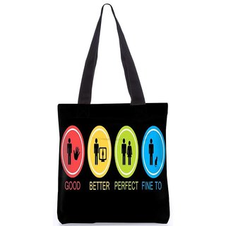 Brand New Snoogg Tote Bag LPC-207-TOTE-BAG