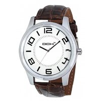 DCH In-10 White Dial Analog Watch For Men's