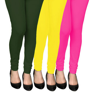 COCAKART - Legging Bottle Green Lemon Pink