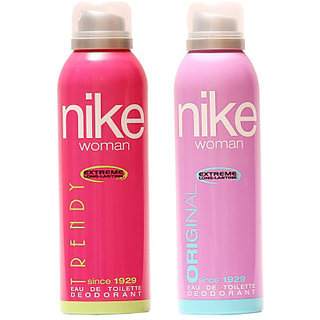 Nike Deodorants Trendy and Original for Women 200ml Each (Pack of 2)