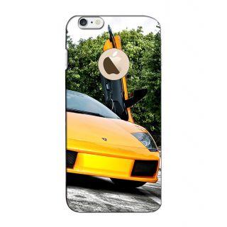 Instyler Digital Printed 3D Back Cover For Apple I Phone 6 Logo 3DIP6LOGOTMC-12047