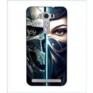 Instyler Digital Printed 3D Back Cover For Asus Zen Fone 2 Lazer Ze 550 Kl 3DASUSZE550KLTMC-11928