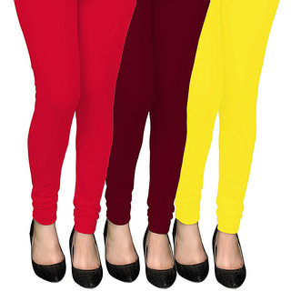 COCAKART - Legging Red Maroon Lemon