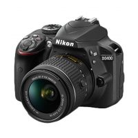 Nikon D3400 DSLR 24.2 Megapixels Camera with AF-P 18-55mm ASP VR II Lens (Black)