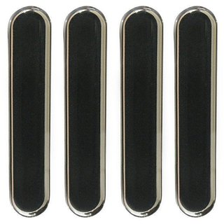 UNIVERSAL COMPACT CAR DOOR GUARD Black Ultra Thin Transparent Car Door Guards