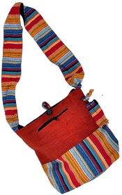 Latest Designer Multi Color Cotton Shoulder Bag 140
