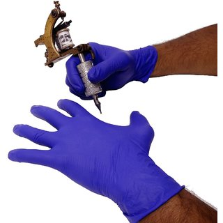 Buy Mumbai Tattoo Purple Hand Gloves Online Get 50 Off