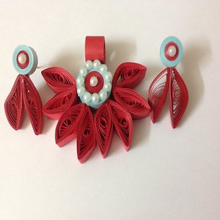 Quilling Pendent Set