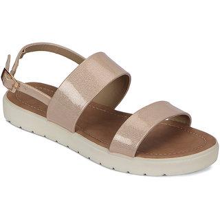 Flora Women's Peach Sandals