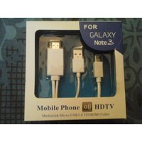 NEW MICRO USB 3.0 TO HDMI DATA CABLE FOR GALAXY NOTE
